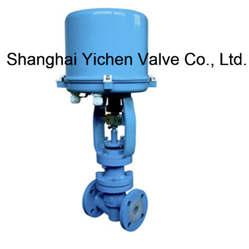 Psl Actuator Electric Fluorine Lined Single Seat Control Valve pictures & photos