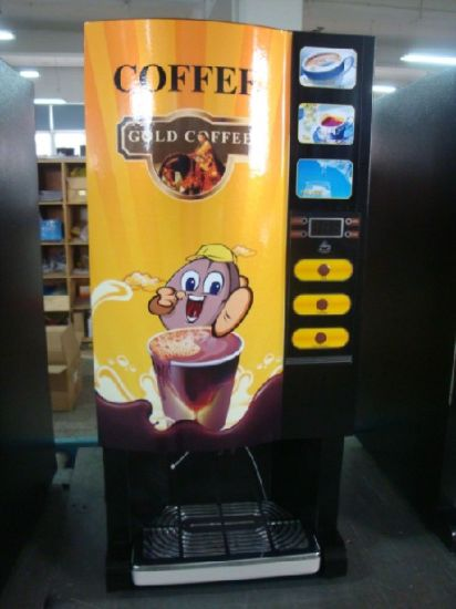 3 Flavors of Coffee Vending Machine pictures & photos