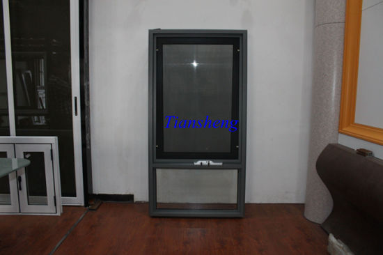 Double Glazing Australia Style Aluminum Awning Window Aluminium Top Hung Window with Crimsafe Screen pictures & photos