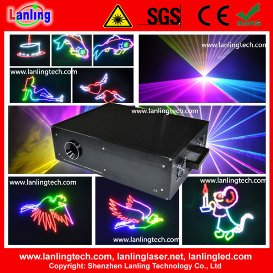 RGB Multi Color Animation Laser for Christmas Event