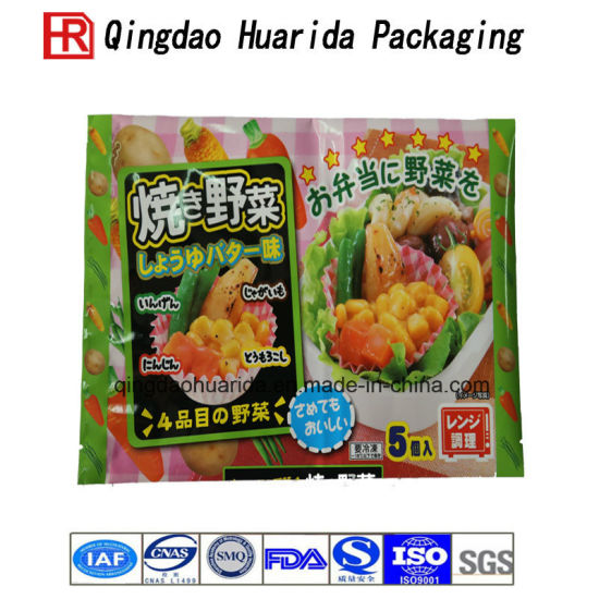 Lamination Plastic Custom Printed Food Packaging Lasagna Bags Packing pictures & photos