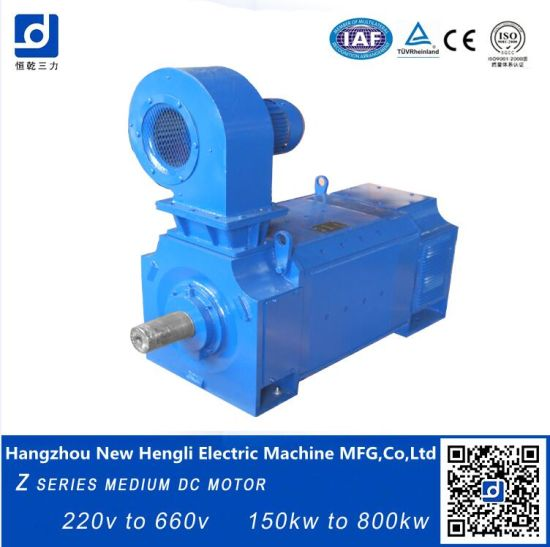China Carbon Brush Rolling Mill Electrical 350kw DC Motor