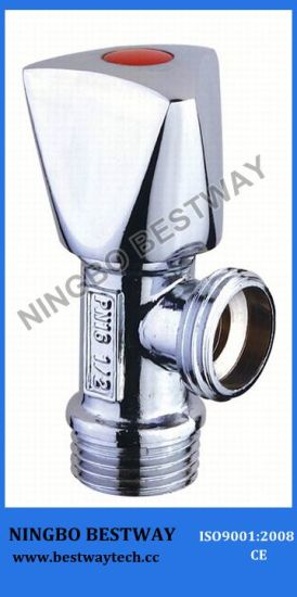 Zinc Handle Brass Angle Valve (BW-A14) pictures & photos