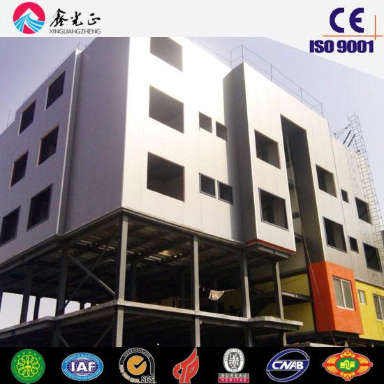 Steel Multi-Storey Apartment House (SS-16130)