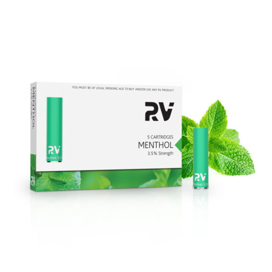 RV- Vape Pen Electronic Cigarette Classic Cartridge Menthol