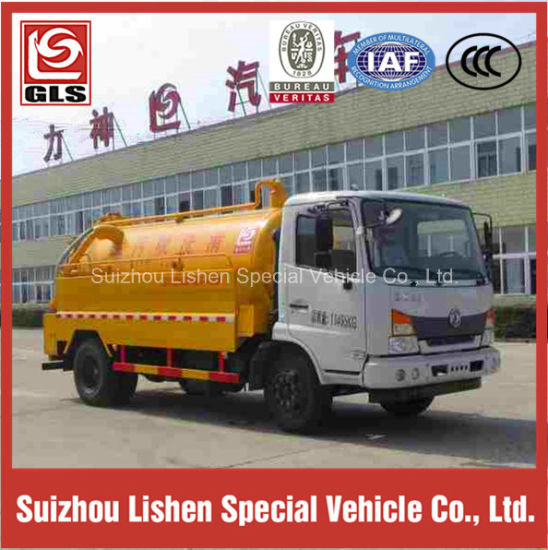 GLS 4000L High Pressure Cleaning Truck pictures & photos