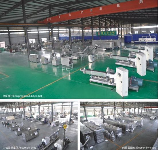 Double Screw Extruder Dog Food Processing Machine pictures & photos