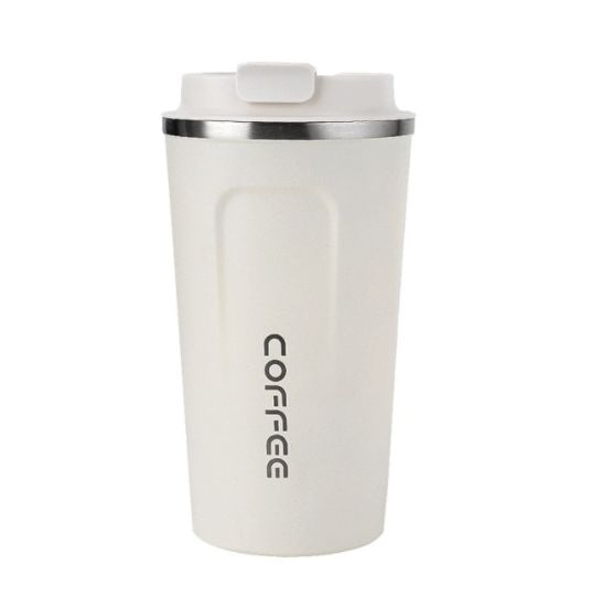 Wholesale Insulated Double Wall Thermos Stainless Steel Travel Coffee Mug with One-Handed Operation Flip Lid