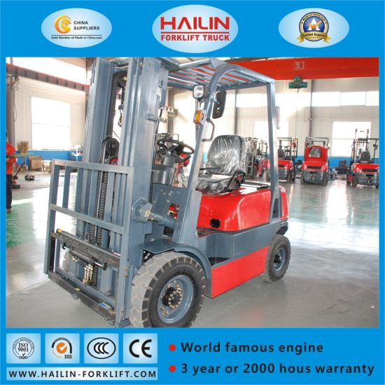 Diesel Forklift (ISUZU engine, 1.5Ton) pictures & photos