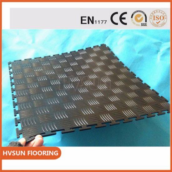 Rubber interlocking floor tiles cheap