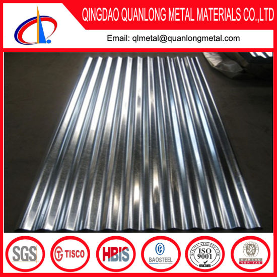 SPCC Corrugated Galvanized Steel Sheet for Roofing pictures & photos