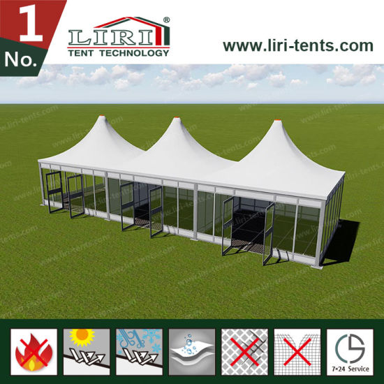Module Pyramid Tent Structure for Office and Booth pictures & photos