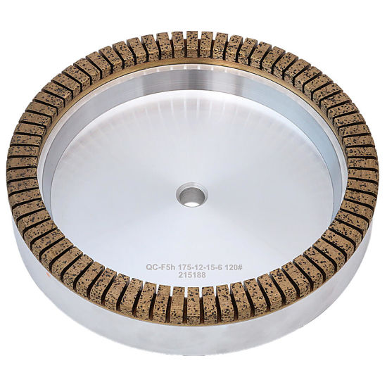 Fine High-Speed Toothed Diamond Wheel for Glass Grinding with Ce Certification