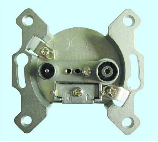 TV+FM 5-1000MHz Digital TV Wall Socket End-Type and Through-Type