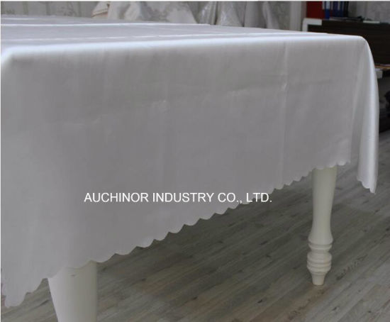 Beautiful Disposable Tablecloth Party Supplies Plastic Cloth Table Cloths pictures & photos
