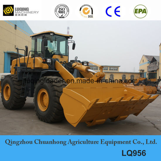 5ton Pilot Control Large Luqing Wheel Loader with Ce pictures & photos