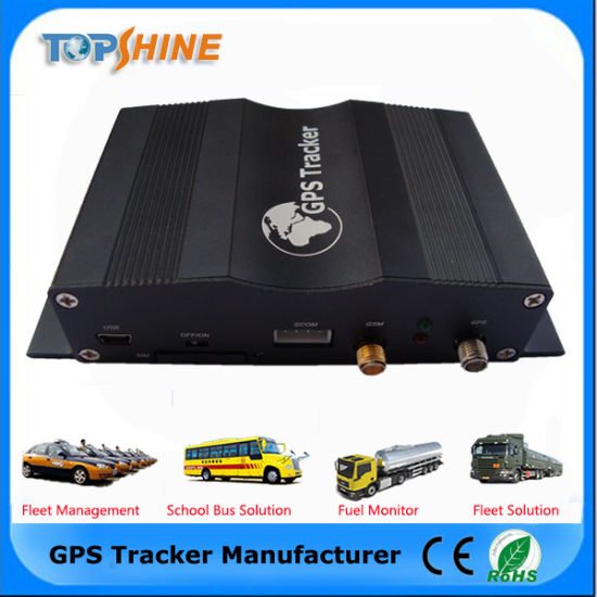Tracker Coban with Camera Vehicle GPS with RFID Car Alarm and Camera Port (VT1000) pictures & photos