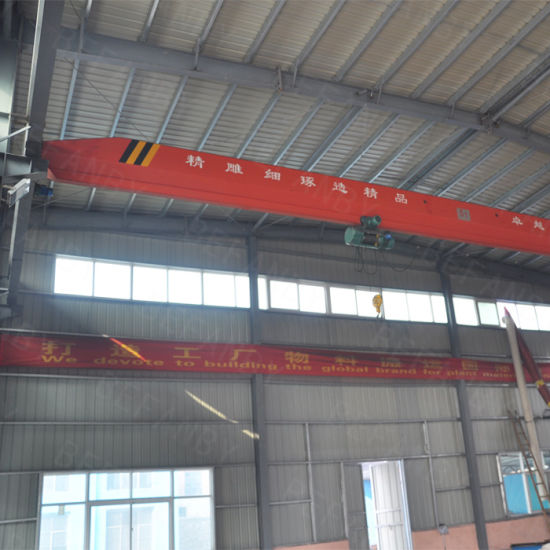 China Supplier High Efficiency 10t Bridge Crane for Sale pictures & photos