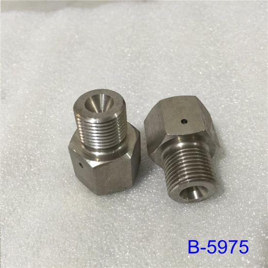 Water Jet Cutting Machine CNC Machine Spare Parts; Bleed Down Valve Adapter pictures & photos