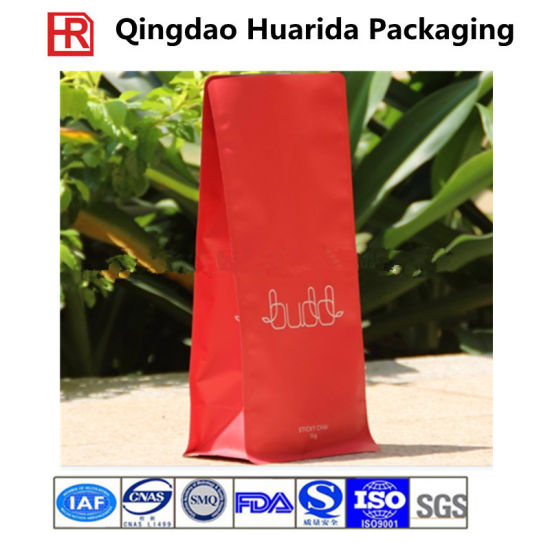Biodegradable Stand up Waterproof Kraft Paper Packaging Bag with Zipper pictures & photos