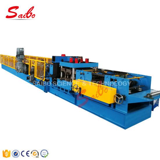 3mmx100-300mm Czu Purlin Interchangeable Roll Forming Machine