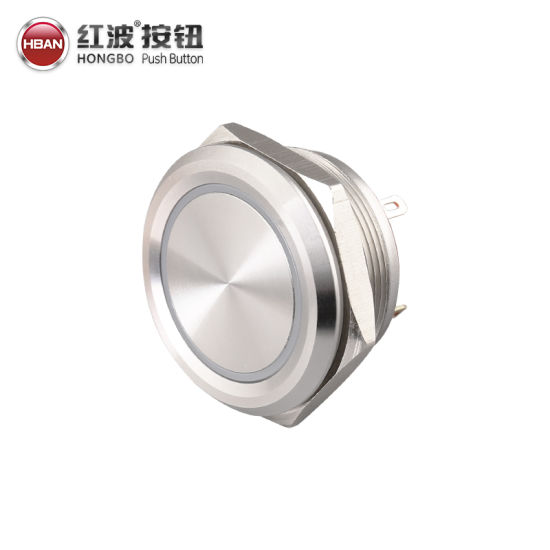 16mm//19//22 S//S Round Metal Push Button Momentary Switch For Car Home Appliances