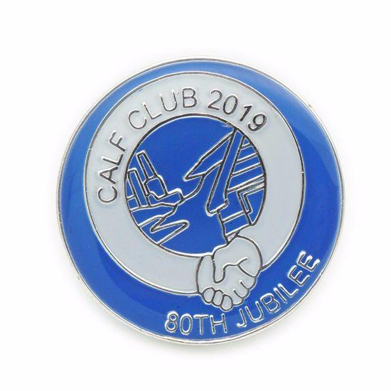 BSCI Factory Promotion Metal Badge Pin/Die Struck Metal Lapel Pin/Custom Enamel Metal Pin Badge (FTBG1019)