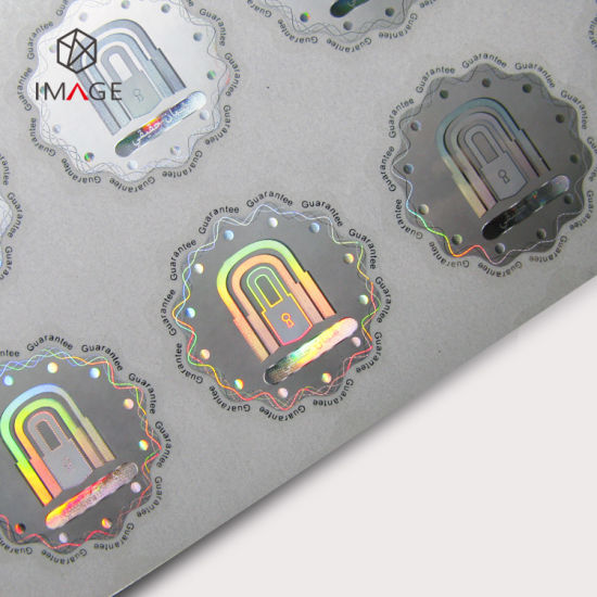 Personalised Custom Round 3D Security Hologram Sticker pictures & photos