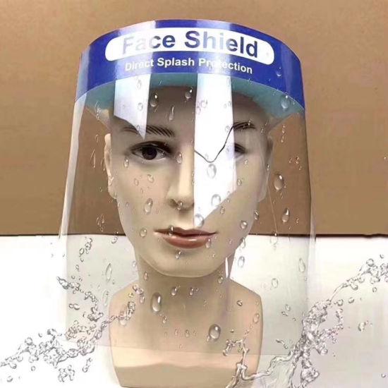 Stock Disposable Anti-Splash Pet Anti-Fog Isolation Protective Safety Examination Full Cover Face Shield