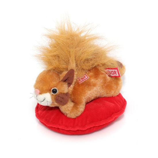 Fluffy Custom En71 Plush Stuffed PP Cotton Squirrel Toy