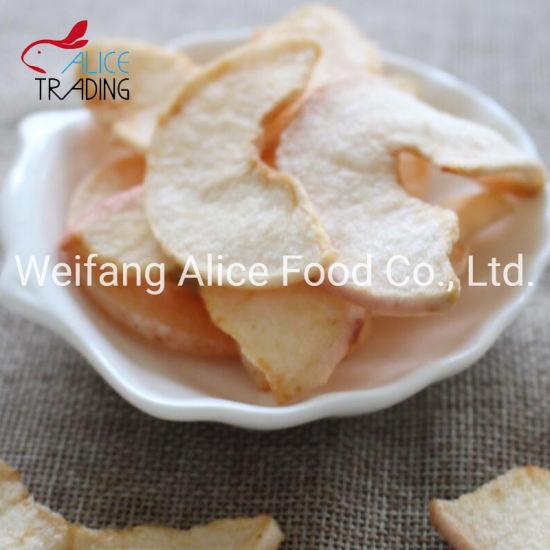 Crispy Healthy Snack Vacuum Fried Fruit Apple Chips