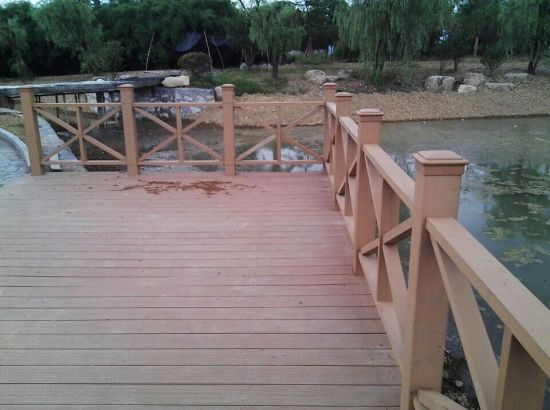 Wood Plastic Composite Railing Material pictures & photos