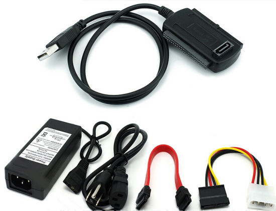 China Usb 2 0 To Ide Sata 2 5 3 5 Hdd Converter Cable China Usb To