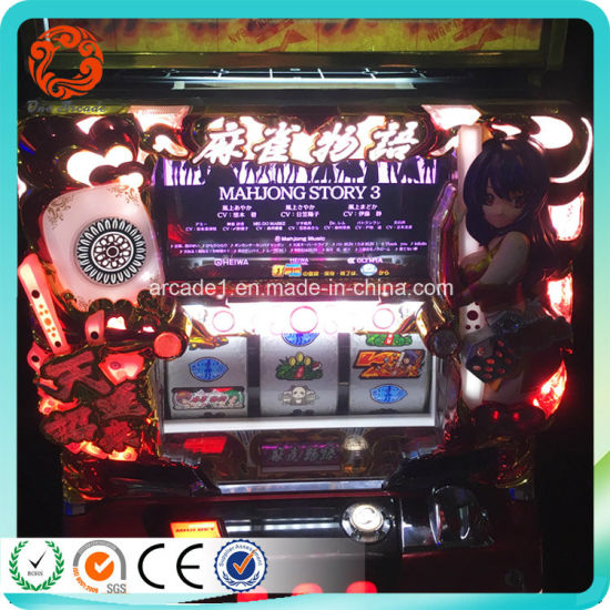 Slot pachinko game