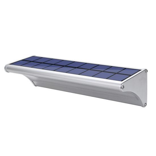 Aluminium Alloy Waterproof Outdoor Radar Motion Sensor Home Garden Lamp LED Solar Wall Lights
