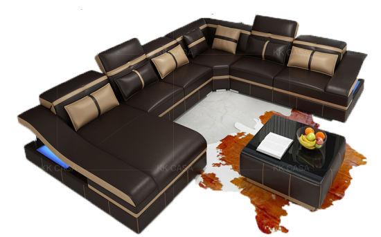 Sensational L Shape Modern Leather Fabric Sofa Set Design Home Furniture Sofa Inzonedesignstudio Interior Chair Design Inzonedesignstudiocom