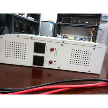 Hybrid Solar Inverter UPS with MPPT Solar Charge Controller AVR Function pictures & photos