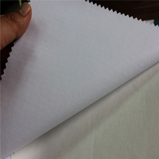Chinese Factory Cotton Shirt Fusible Interfacing Collar Cuff Fabric Interlining