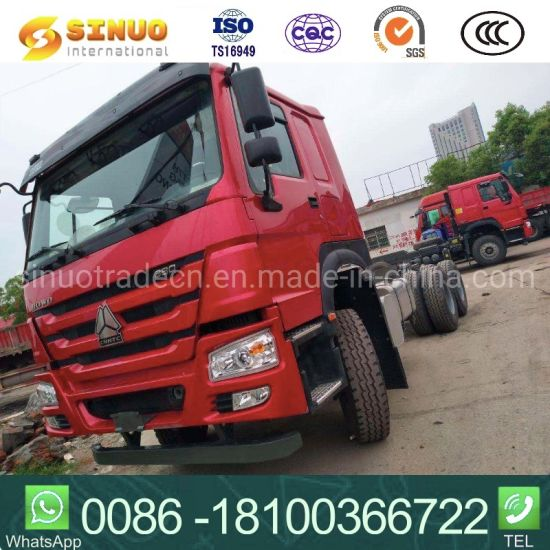 Used 371HP/380 6X4 HOWO 10X Tyres Sinotruk Tractor Truck Heavy Duty Truck Cargo Truck Trailer Head Tractor Head Truck Low Price Hot Sale