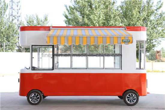 Electric Powered Food Car Instead of Food Trailer pictures & photos