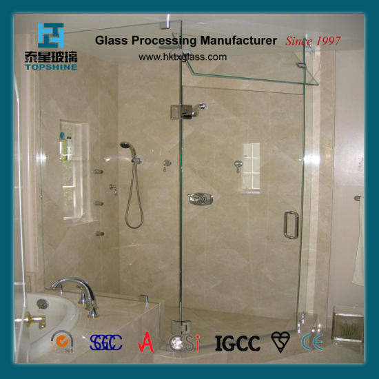 Tempered Glass Shower Wall Panel
