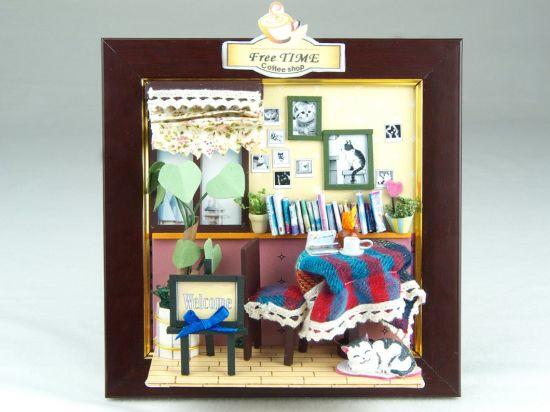 China Home Decoration Funny Photo Frame Diy Craft Dollhouse China