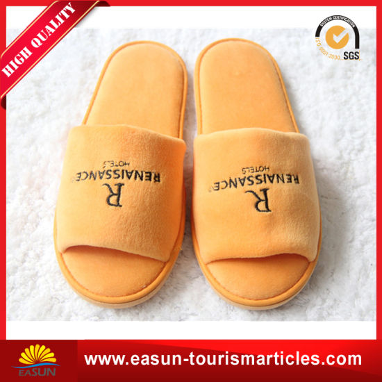 Factory Direct Sale Custom Personalized Hotel Slipper