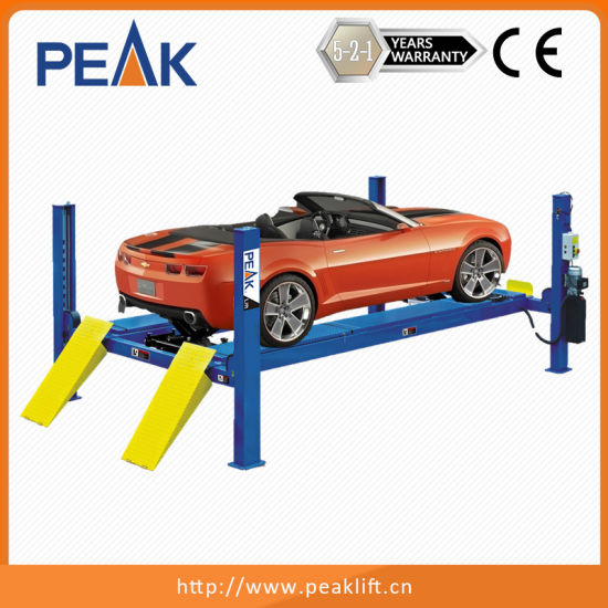 China Alignment Four Post Hoist for Different Wheelbase Car - China