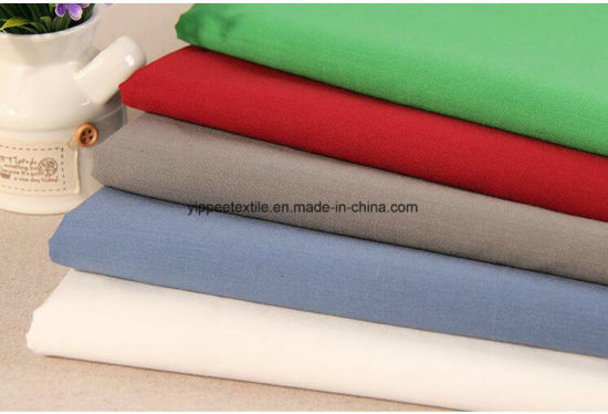 Yarn: 45sx45s Density: 110X76 Polyester Cotton Poplin Fabric pictures & photos