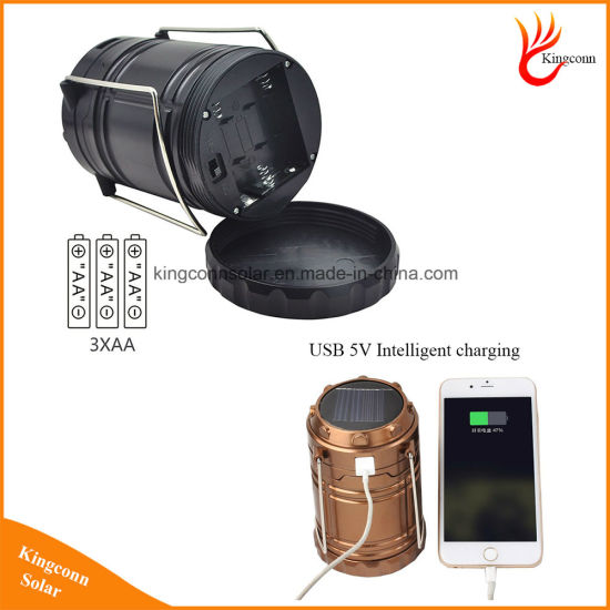High Quality 6 LED Hand L& Rechargeable Collapsible Solar C&ing Lantern Tent Lights for Outdoor Lighting  sc 1 st  Shenzhen Kingconn Technology Co. Ltd. : photo tent lights - memphite.com