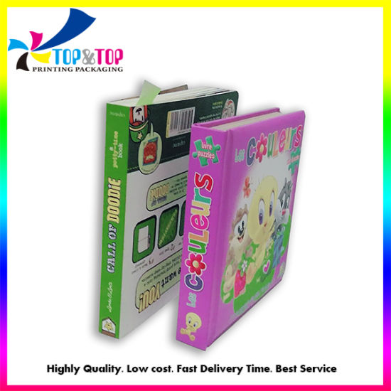 Facotry Prirce Custom High Quality Full Color Hardcover Children Board Book Magazine Printing