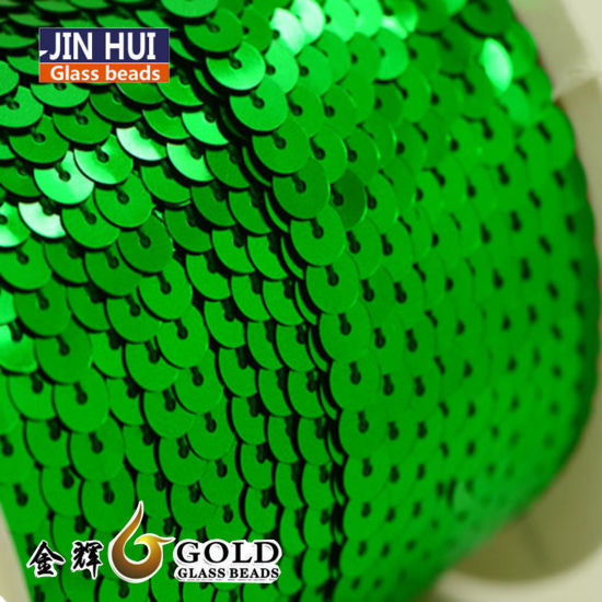 3mm-7mm Pet Sequins CD for Garment Embroidery
