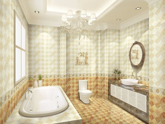 300X600 Foshan High Quality Building Material Ceramic Tile for Bathroom Wall