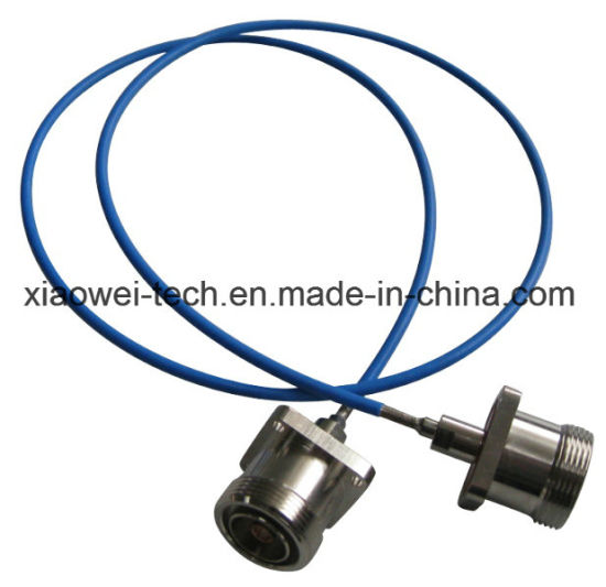 7/8 Coaxial Cable Wire Jumper Assembly with DIN Connectors